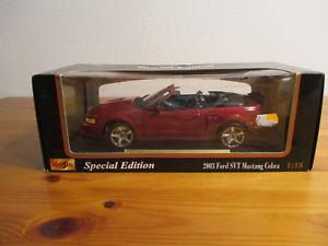 【送料無料】模型車 モデルカー スポーツカー スペシャルエディションフォードムスタングコブラ gor 118 maisto special edition 2003 ford svt mustang cobra neu ovp