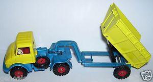 【送料無料】模型車 モデルカー スポーツカー イングランドメルセデスベンツold corgi toys england mercedes benz unimog 406 amp; 10t oose dumper 1971 ref 1145