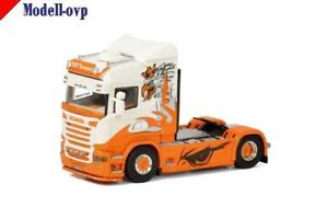【送料無料】模型車 モデルカー スポーツカー モデルscania r streamline highline bamp;r transporte wsi models wsi 011922