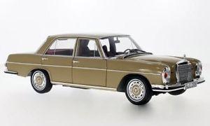 【送料無料】模型車 モデルカー スポーツカー メルセデスメタリックベージュmercedes 280 se w108 metallicbeige 1967  118 norev  lt;lt;