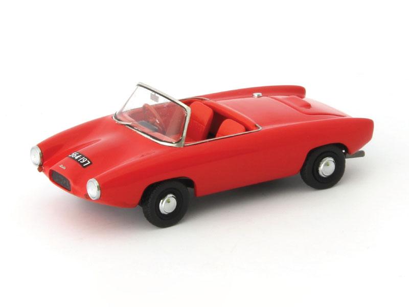 【送料無料】模型車 モデルカー スポーツカー カルトライトゼータスポーツロードスターautocult lightburn zeta sports roadster 1963 red 143 atc02005