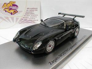 【送料無料】模型車 モデルカー スポーツカー #マセラティマセラティクーペkess 43044000 maserati zagato mostro coupe baujahr 2015 in schwarz 143