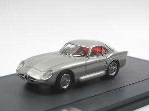 【送料無料】模型車 モデルカー スポーツカー アルファロメオスケールモデルマトリックスクーペシルバーmatrix scale models 1954 alfa romeo 2000 sportiva coupe bertone silver 143
