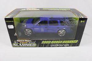 【送料無料】模型車 モデルカー スポーツカー ミニチュアアメリカダッジデュランゴzc414 ertl rc2 33710 voiture miniature american muscle 118 dodge durango 2000