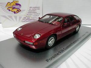 【送料無料】模型車 モデルカー スポーツカー ドアセダンポルシェダークレッドメタリックkess 43024010 porsche 928 4 door sedan baujahr 1986 dunkelrotmetallic 143