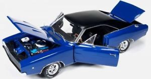 【送料無料】模型車 モデルカー スポーツカー クリスティンdodge charger christine 1968 blau 118 autoworld