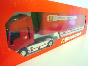 【送料無料】模型車 モデルカー スポーツカー スクーデリアフェラーリ143 iveco eurostar scuderia ferrari f1  oldcars