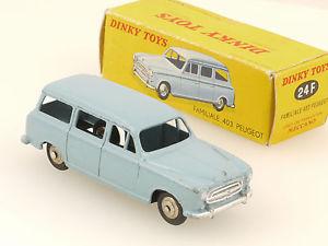 【送料無料】模型車 モデルカー スポーツカー フランスオリジナルボックスdinky 24f toys peugot u5 403 familiale france original box n mib ovp 14100214
