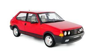 【送料無料】模型車 モデルカー スポーツカー フィアットアバルトモデルfiat ritmo abarth 130tc 1983 rot 118 laudoracing models