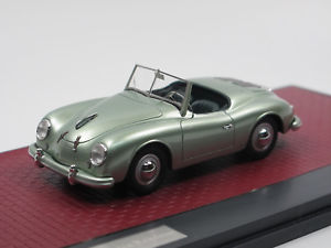 【送料無料】模型車 モデルカー スポーツカー マトリックススケールモデルポルシェグリーンアメリカロードスターオープンmatrix scale models 1952 porsche 356 america roadster open green 143 limited