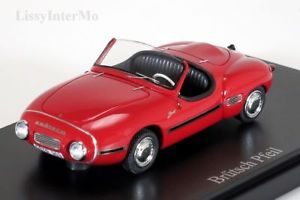 【送料無料】模型車 モデルカー スポーツカー ドイツカルトbrtsch pfeil germany, 1956 autocult 143 neuovp