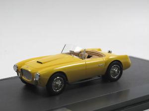 【送料無料】模型車 モデルカー スポーツカー マトリックススケールモデルモットースパイダーmatrix scale models siata 208 s motto spider 1953 yellow limited edition