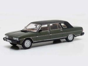 【送料無料】模型車 モデルカー スポーツカー プジョーマトリックスmatrix peugeot 604 heuliez 1980 green 143 mx41604011