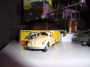 【送料無料】模型車 モデルカー スポーツカー ポルトガルビンテージフォルクスワーゲンヌフmetosul portugal vw coccinelle 1960 beige rare vintage comme neuf en boite
