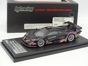 【送料無料】模型車 モデルカー スポーツカー マクラーレンプレゼンテーションhpi 143 mclaren f1 gtr presentation 1997