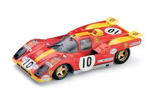 【送料無料】模型車 モデルカー スポーツカー チームスクーデリアフェラーリレースルマンスカラハムferrari 512m team scuderia gelo racing 24h le mans 1971 scala 143 s047 brumm