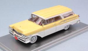 【送料無料】模型車 モデルカー スポーツカー ボイジャーステーションワゴンドアモデルモデルmercury voyager station wagon 4door 1957 yellow white 143 model kess model