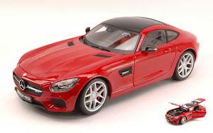 【送料無料】模型車 モデルカー スポーツカー メルセデスシリーズモデルmercedes amg gt 2014 red exclusive series 118 model 38131r maisto