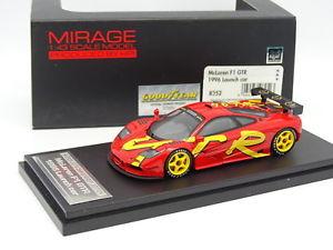 【送料無料】模型車 モデルカー スポーツカー マクラーレンhpi 143 mclaren f1 gtr launch car 1996