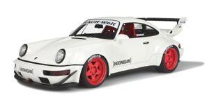 【送料無料】模型車 モデルカー スポーツカー ポルシェソフトウェアライセンスブランシュターボgt spirit 118 porsche 964 rwb hoonigan gt732 blanche neuve 911 turbo