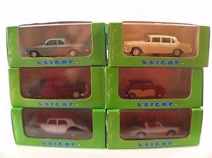 【送料無料】模型車 モデルカー スポーツカー ミニジャガーランチアhobbycar lot eligor 1113 mini 1006 panhard 1127 jaguar 1132 lancia 1136 corvai