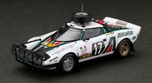 【送料無料】模型車 モデルカー スポーツカー ランチア#サファリレーシングビアンコlancia stratos hf 17 safari 1976 hpi racing bianco 143