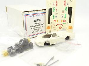 【送料無料】模型車 モデルカー スポーツカー キットモンターアルバフォードルマンmre kit monter 143 alba ford ar3 n83 le mans 1986