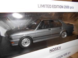 【送料無料】模型車 モデルカー スポーツカー mnv183261 by norev bmw m 535i e28 1986 118