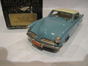 【送料無料】模型車 モデルカー スポーツカー トーン143 brooklin 32a studebaker two tone starliner 1953