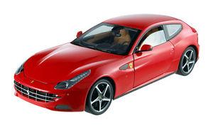 【送料無料】模型車 モデルカー スポーツカー フェラーリロッソferrari ff gt v12 rosso 2012 mattel 118 w1105