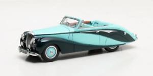 【送料無料】模型車 モデルカー スポーツカー グリーンマトリックスdaimler db18 hooper empress convertible green 1951 matrix 143 mx40402041