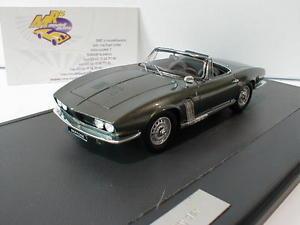 【送料無料】模型車 モデルカー スポーツカー スパイダーグリーンメタリックmatrix 40905021 iso grifo spyder baujahr 1963 in grn metallic 143 neu