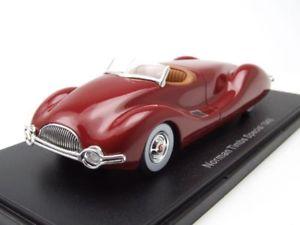 【送料無料】模型車 モデルカー スポーツカー ノーマンダークレッドメタリックモデルカースケールモデルnorman timbs special 1948 dunkelrot metallic, modellauto 143 neo scale models