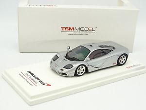 【送料無料】模型車 モデルカー スポーツカー スケールモデルマクラーレンプロトタイプシルバーtrue scale model tsm 143 mclaren f1 xp3 experimental prototype 1993 silver