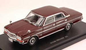 【送料無料】模型車 モデルカー スポーツカー モデルnissan president 252 1987 brown 143 model 45321 ebbro