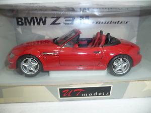 【送料無料】模型車 モデルカー スポーツカー ロードスターモデルbmw z3 e367 m roadster red 118 utmodels 20411 very rare