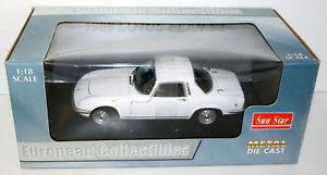 【送料無料】模型車 モデルカー スポーツカー サンスターロータスエランクーペホワイトsunstar 118 4071 66 lotus elan s3 coupe cirrus white