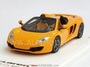 【送料無料】模型車 モデルカー スポーツカー マクラーレンクモマクラーレンスケールmclaren mp412c spider 2013 mclaren 143 truescale tsm134333
