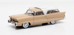 【送料無料】模型車 モデルカー スポーツカー コンセプトベージュホワイトマトリックスchrysler plainsman concept beigewhite 1956 matrix 143 mx50303041