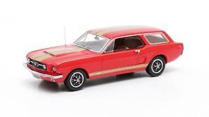 【送料無料】模型車 モデルカー スポーツカー ムスタングワゴンマトリックスintermeccanica mustang wagon red 1965 matrix 143 mx20603102