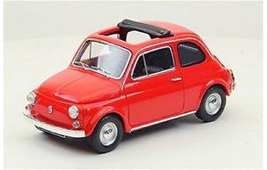 【送料無料】模型車 モデルカー スポーツカー フィアットオープンソフトトップモデルfiat 500f open soft top 1965 red 143 model 44462 ebbro