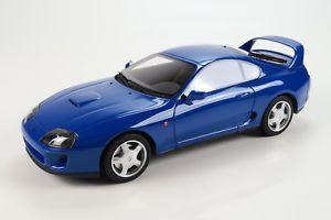 【送料無料】模型車 モデルカー スポーツカー トヨタスープーペグッズtoyota supra coupe mkiv 4 jza80 blau 1993 2002  118 ls collectibles