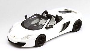 【送料無料】模型車 モデルカー スポーツカー マクラーレンクモホワイトモデルmclaren mp412c spider 2013 white 143 model true scale miniatures