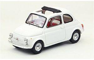 【送料無料】模型車 モデルカー スポーツカー フィアットオープンソフトトップモデルfiat 500f open soft top 1965 white 143 model 44461 ebbro
