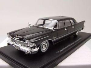 【送料無料】模型車 モデルカー スポーツカー クライスラーインペリアルクラウンギアセダンブラックモデルカースケールchrysler imperial crown ghia sedan 1958 schwarz, modellauto 143 neo scale