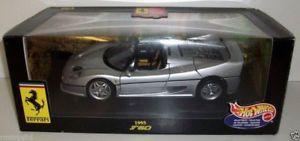 【送料無料】模型車 モデルカー スポーツカー ホットホイールフェラーリシルバーhot wheels 118 23933 ferrari f50 1995 silver