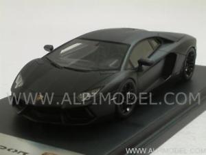 【送料無料】模型車 モデルカー スポーツカー ランボルギーニマットブラックスケール