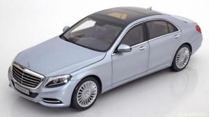 【送料無料】模型車 モデルカー スポーツカー メルセデスクラスシルバー118 norev mercedes sclass v222 2014 silver