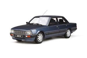 【送料無料】模型車 モデルカー スポーツカー プジョーミニチュアコレクションオットーpeugeot 505 v6 1987 voiture miniature 118 collection otto 687