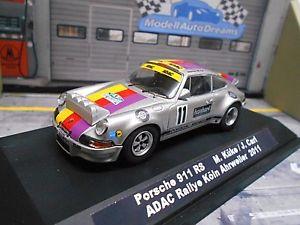 【送料無料】模型車 モデルカー スポーツカー ポルシェカレララリーケルンクレーメル#porsche 911 carrera rs rallye kln ahrweiler 11 kke kremer historik umbau 143